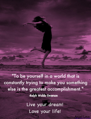 ways to be yourself